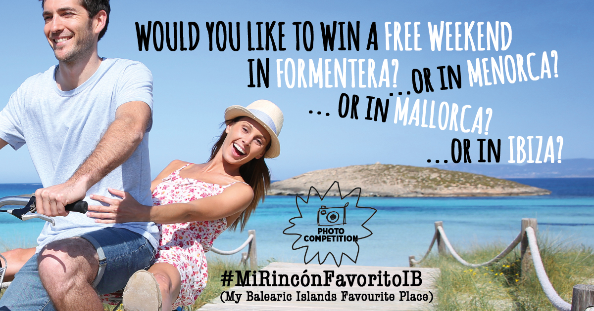 Would you like to win a free weekend in Mallorca, Menorca, Ibiza or Formentera?