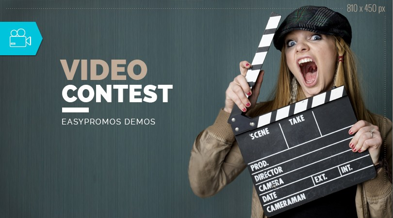 Video contest Easypromos Demo