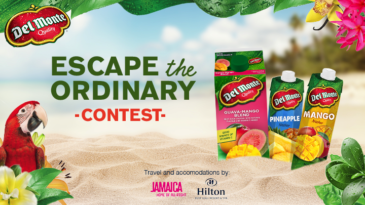 Escape the Ordinary: JamaicaGet a chance to WIN 1 of 3 trips to Jamaica