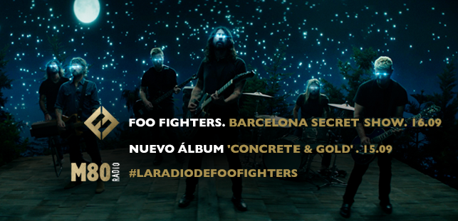 Busca oro con Foo Fighters y M80