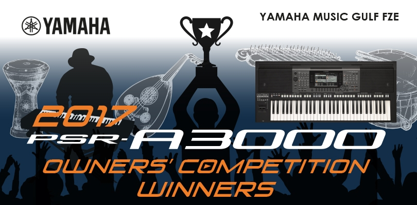 Yamaha PSR-A3000 Owners' Competition 2017