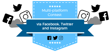MULTI-PLATFORM CONTEST DEMO VIA FACEBOOK, TWITTER AND INSTAGRAM
