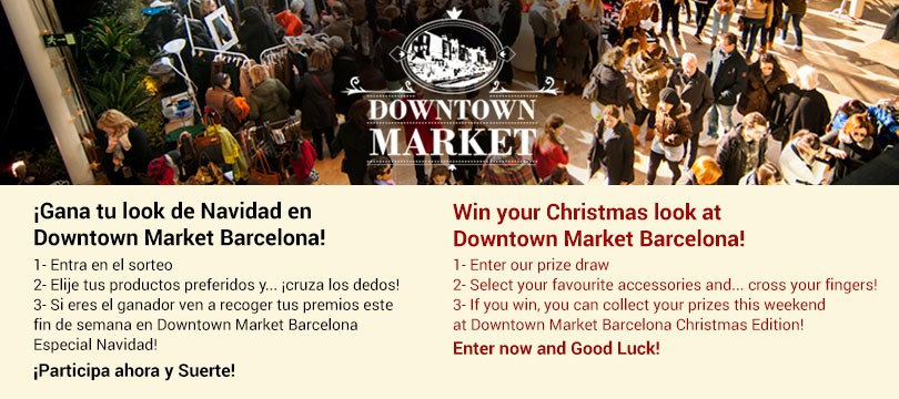 Downtown Market Barcelona Christmas Contest